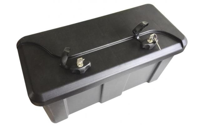 coffres coffre rangement 550x250x294mm avec supports remorque pi ces d tach es. Black Bedroom Furniture Sets. Home Design Ideas