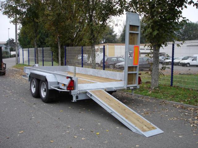 Porte engins 3t5 remorque peg800fr remorque porte engins 3t5 - Remorque porte engin agricole occasion ...